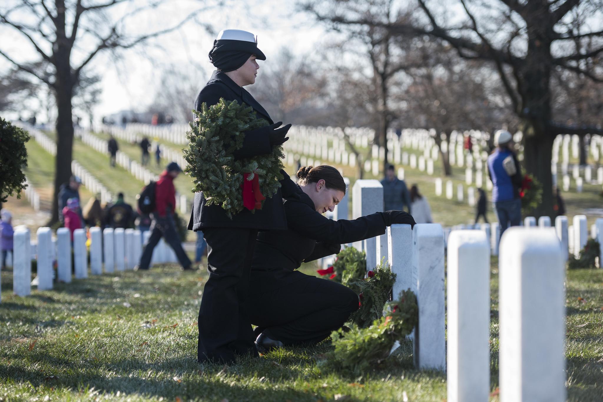 Wreaths Across America at Arlington National Cemetery 2017