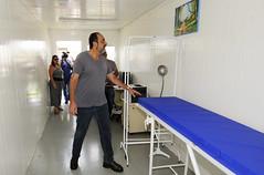 Entrega do anexo do centro de saúde Trevo na comunidade Dandara