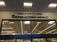 welcome to your Snoqualmie Safeway