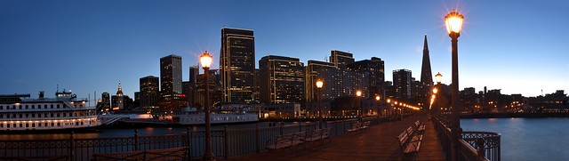 Pier 7 and Embarcadero Center