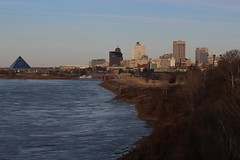 Memphis from Big River Crossing