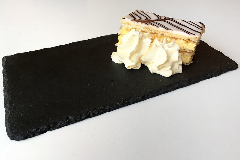 Vanilla slice, Tasmanian Museum cafe