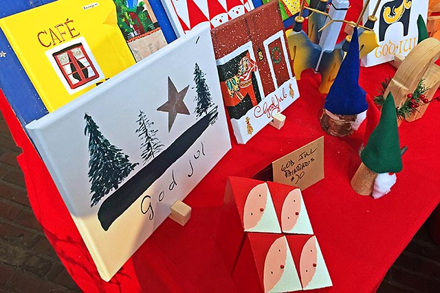 God Jul (Merry Christmas) Paintings