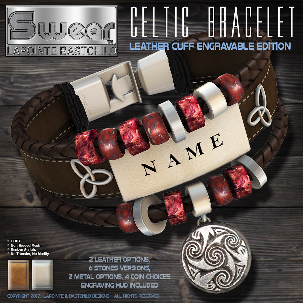 Celtic Coin Bracelet
