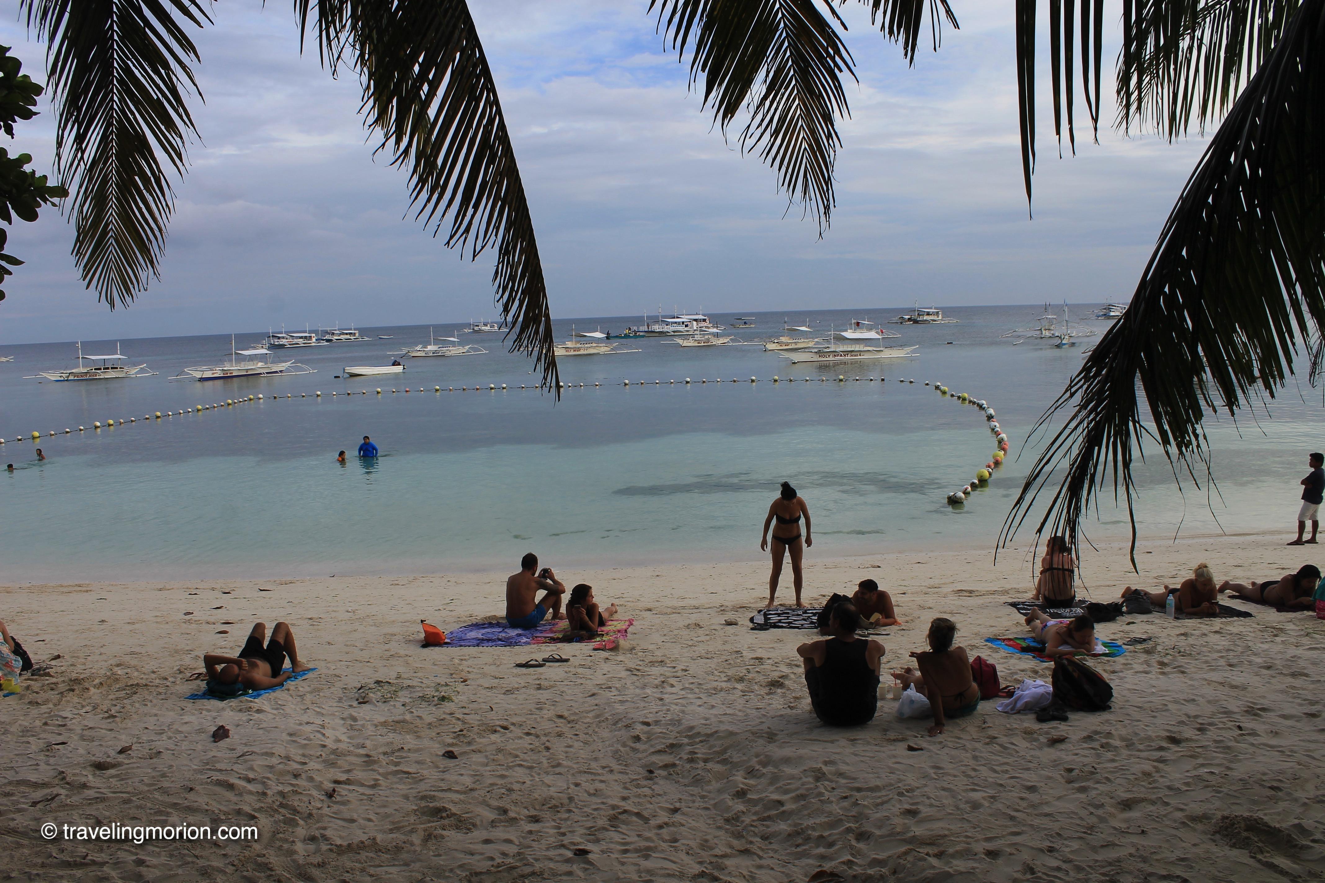 Alona Beach in Panglao, Bohol