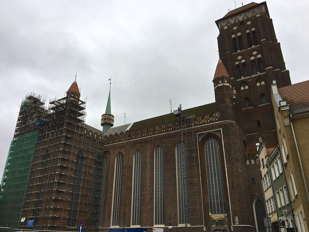 Gdańsk - Pyhän Marian kirkko