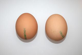 06 - Zutat Eier / Ingredient eggs