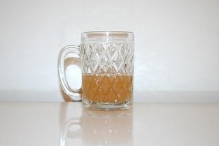12 - Zutat naturtrüber Apfelsaft / Ingredient apple juice