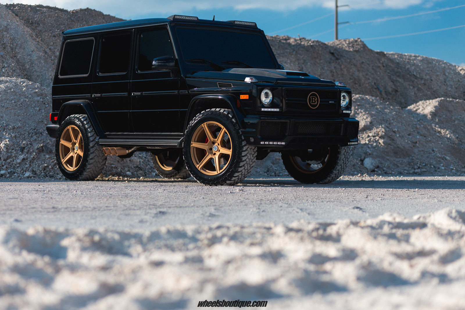 The Brabus Brawler - Another Lifted Mercedes G63 by TeamWB