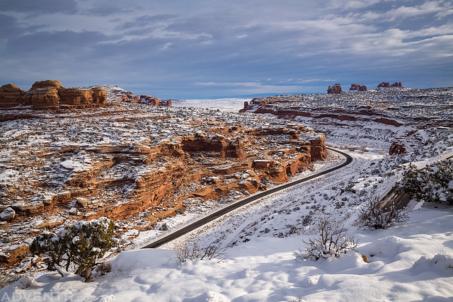 Sevenmile Canyon Road