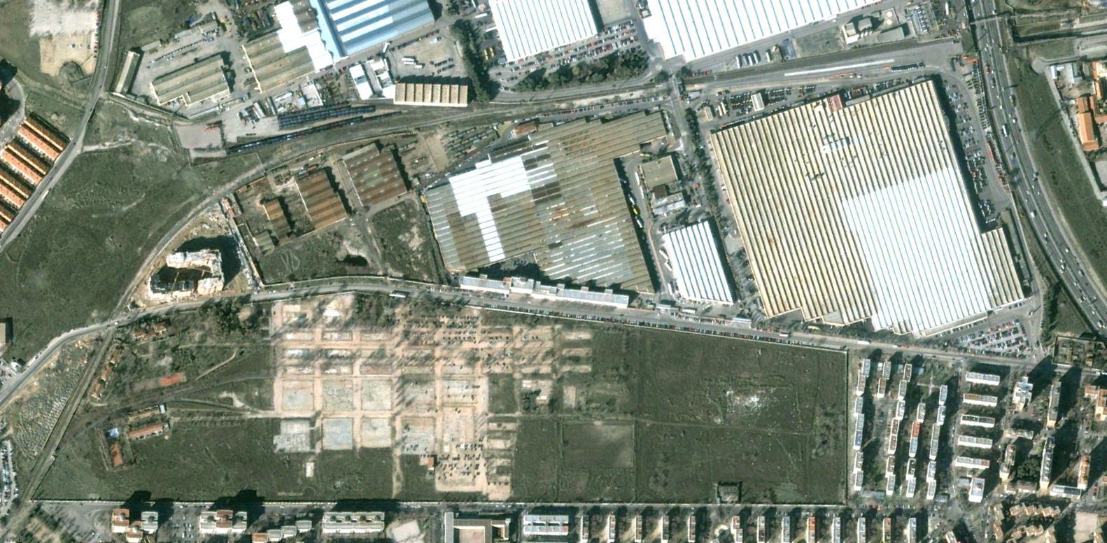 ciudad de los ángeles, madrid, lololond, antes, urbanismo, planeamiento, urbano, desastre, urbanístico, construcción