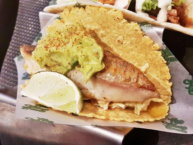 Grilled Baramundi Taco