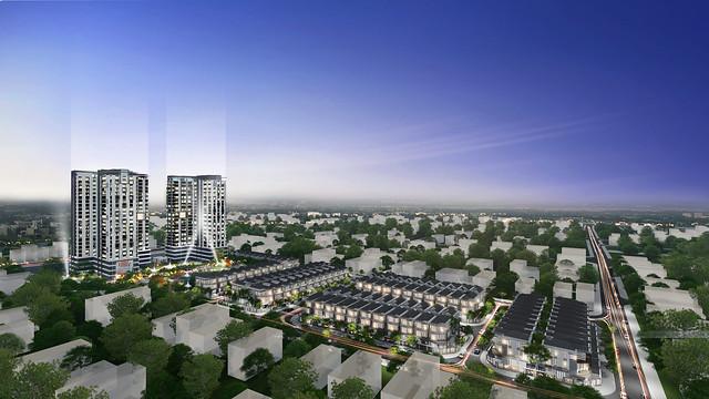 Dự án căn hộ Green Star Sky Garden quận 7 Hưng Lộc Phát