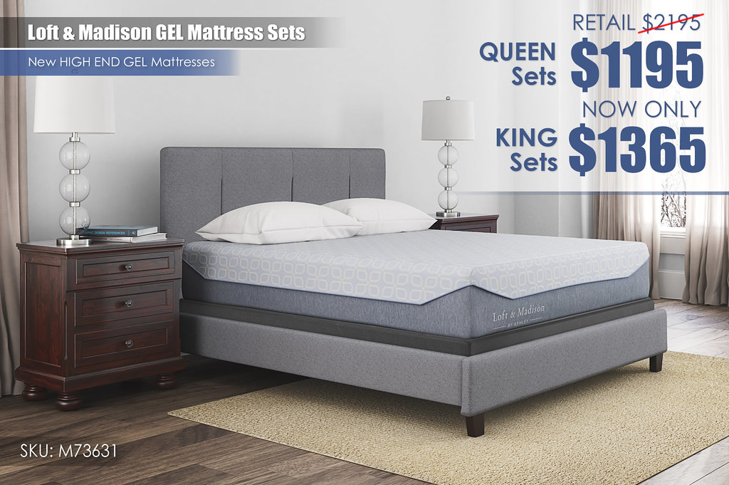 Loft & Madison GEL Mattresses_M73631