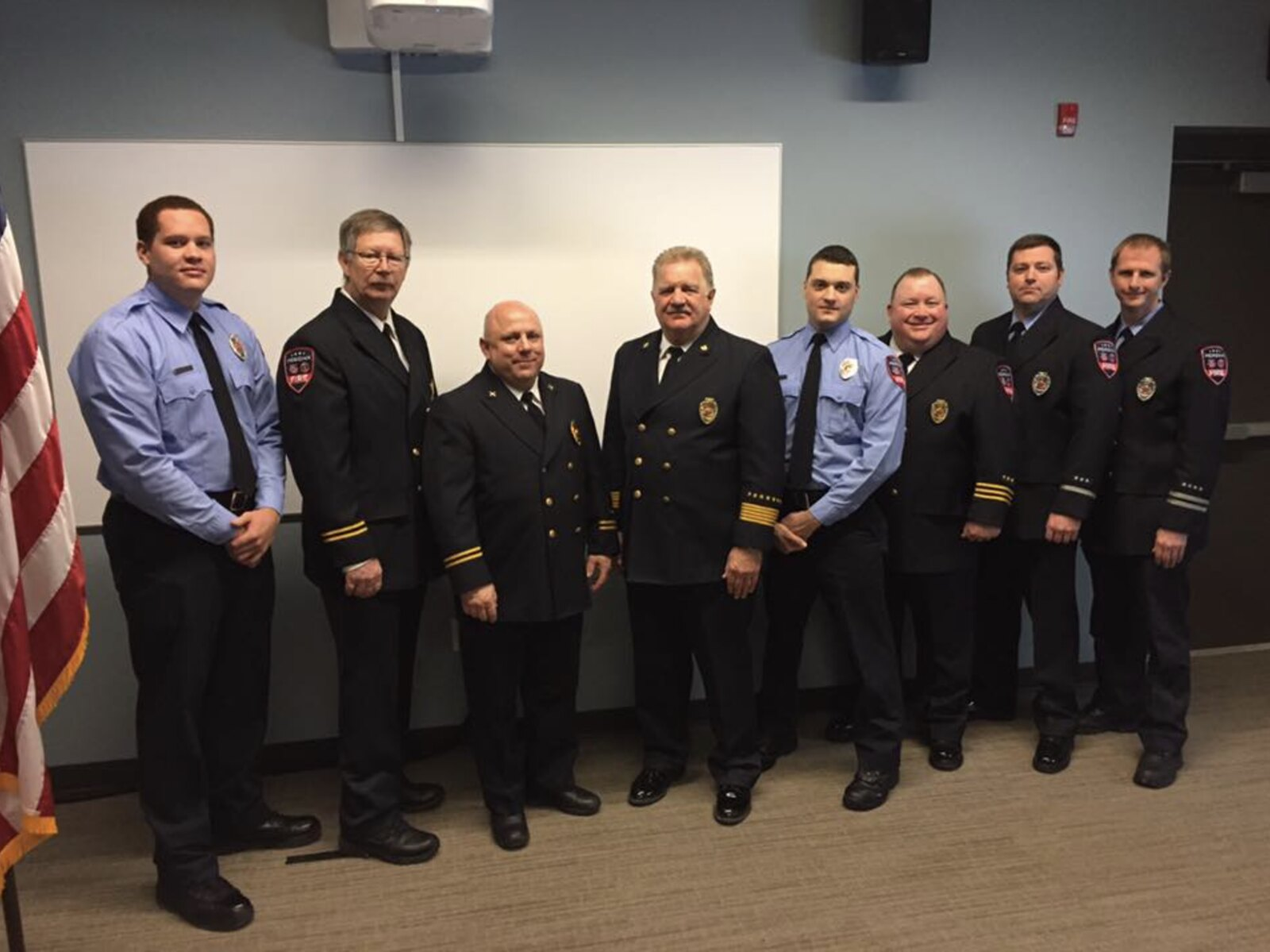 Meridian Township Fire Department Welcomes Two New Firefighters