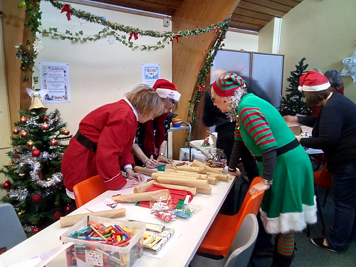 Whickham Library coffee morning Dec 17 (1)