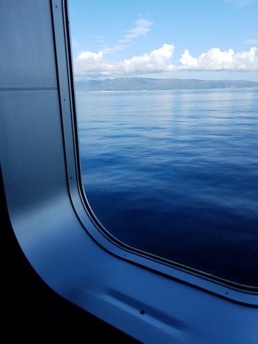 道南の日本海側を望む