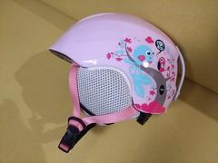 Prodám zachovalou růžovou dětskou helmu Salomon Dr - titulní fotka
