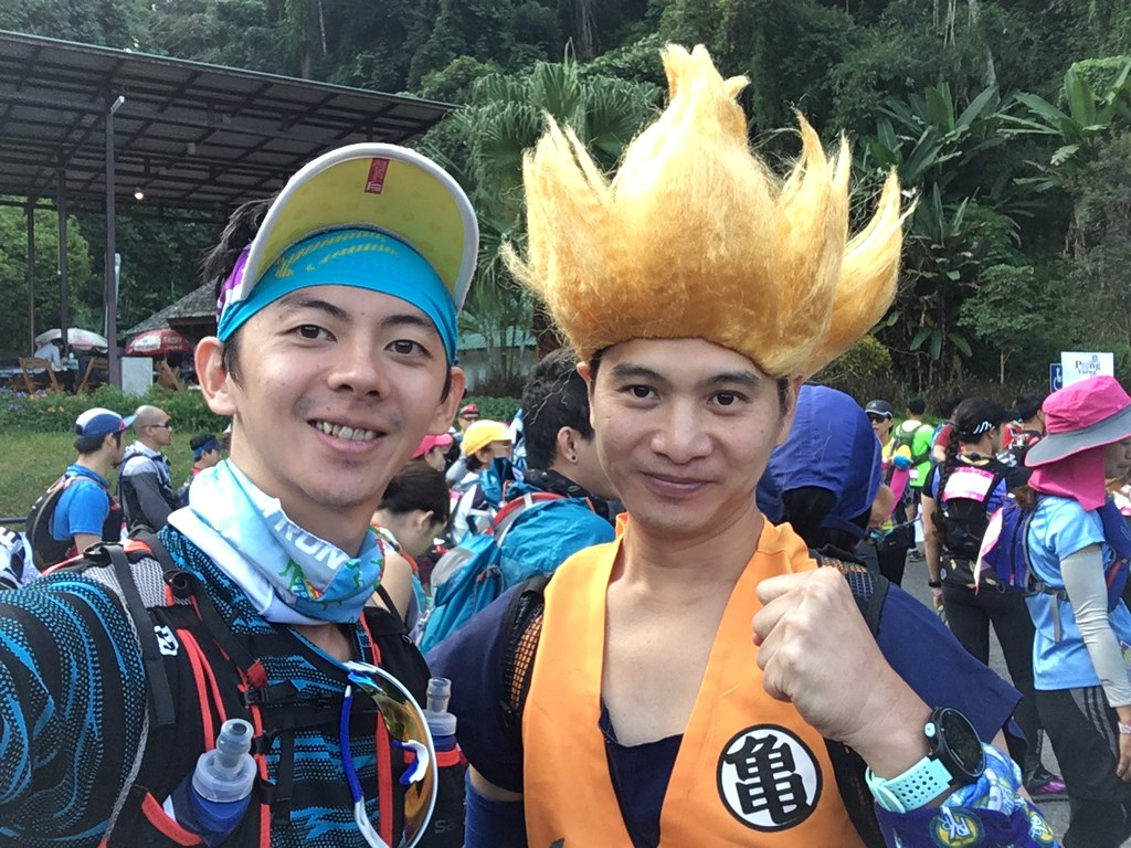 wefie with Goku