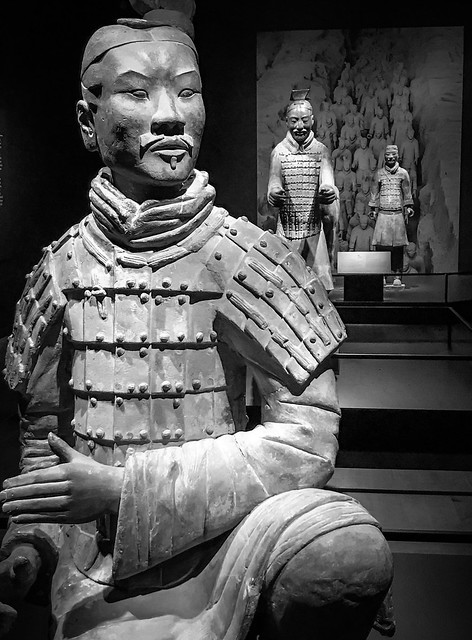 Terracotta Warriors exhibit at the museum