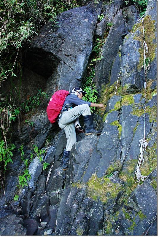 乾溪谷垂直石壁地形 3