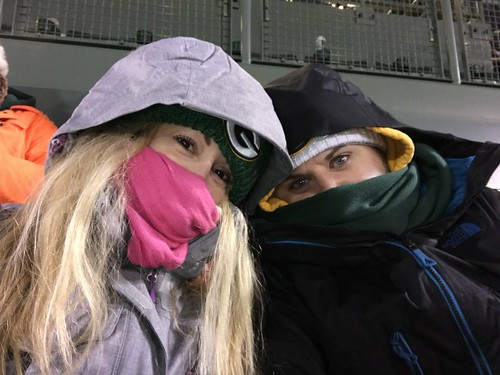 Miserably cold at this point. Packers vs Vikings