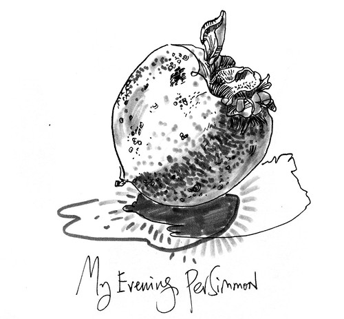 Sketchbook #110: The Last Persimmons
