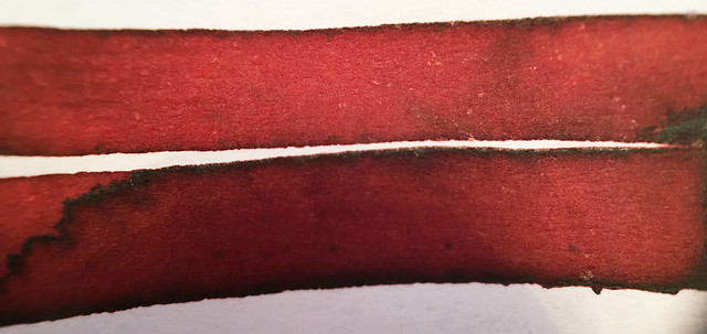 Ink Shot Review Franklin-Christoph Urushi Red @1901FC 5