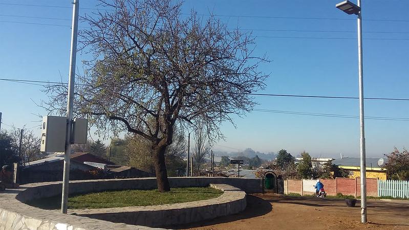 Plazoleta El Almendro - Barrio Rosita O'Higgins – Cauquenes