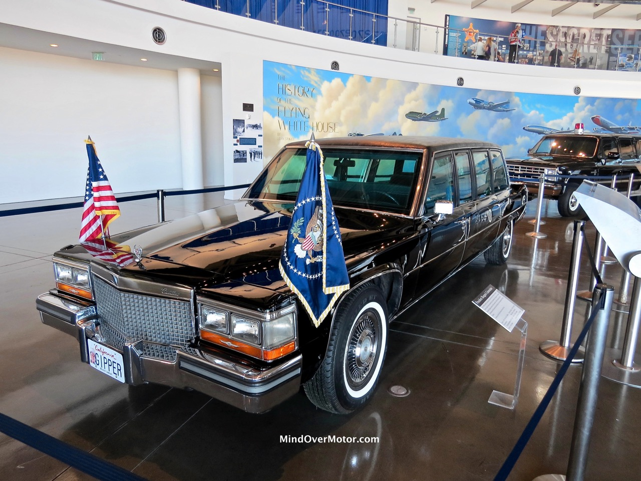 Reagan Limo Front
