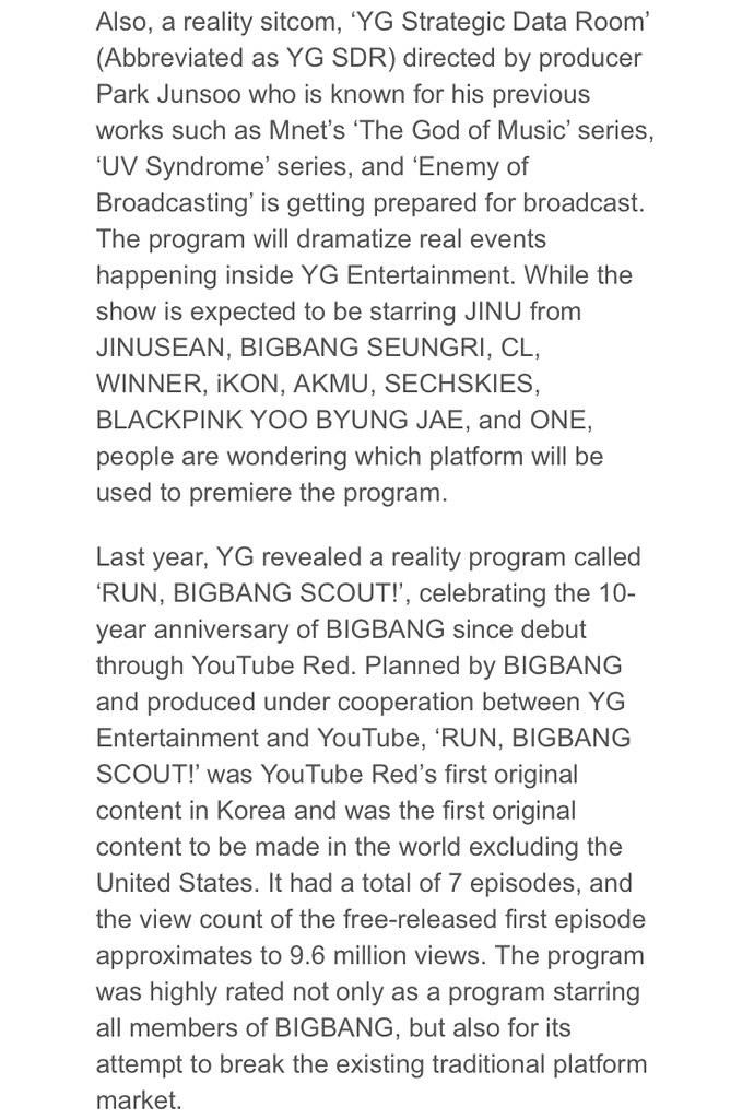 BIGBANG via GottaTalk2V1212 - 2018-01-06 (details see below)