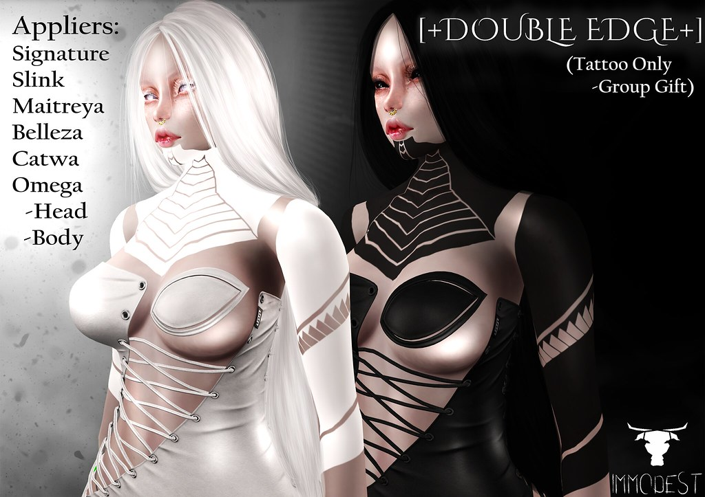IMMODEST :: [+Double Edge+] +Group Gift+ - TeleportHub.com Live!