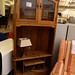 Oak corner tv unit reduced E95