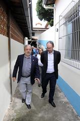 Prefeito em exercício Paulo Lamac visita Unidade de Acolhimento Transitório e Cersami Nordeste