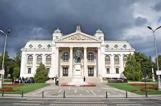 National Theatre V Alecsandri - front