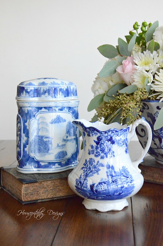 Blue and White Vignette-Housepitality Designs-9