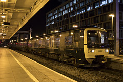 Class 166 Turbo DMU 166208 at Cardiff Central