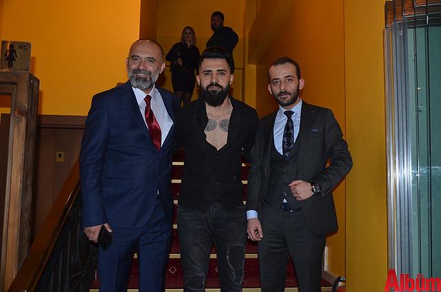 İşletme Müdürü Atilla Bülbül, Mustafa Nergiz- Alanya Et & Balık Restoran