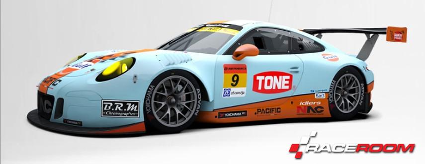 RaceRoom PORSCHE 911 GT3 R
