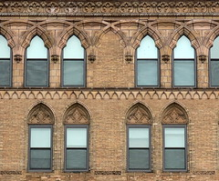 A bunch of arches, Broadway at E. 11th Street, Manhattan, NYC