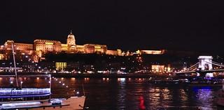 Buda Castle, The Danube and The Chain Bridge
