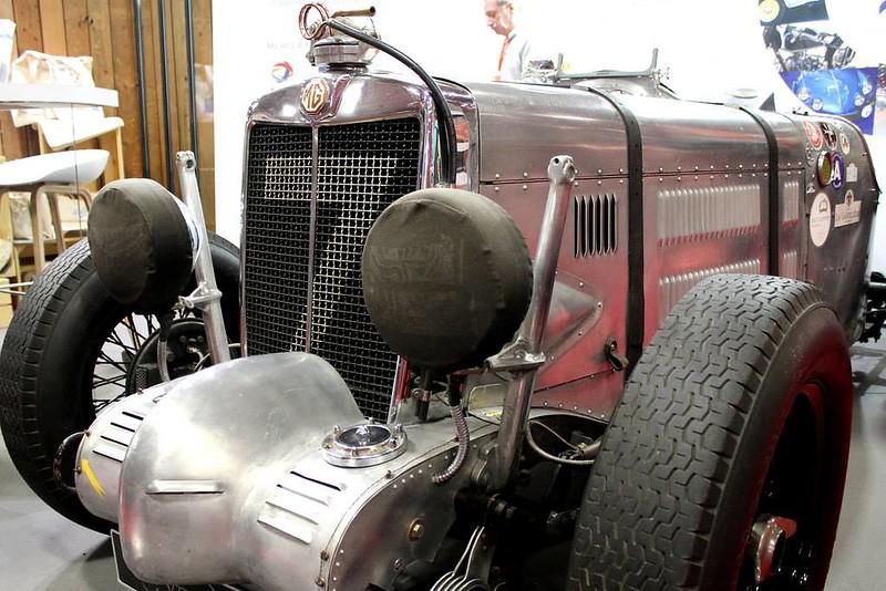 1936 MG TA Pointed Tail Monaco