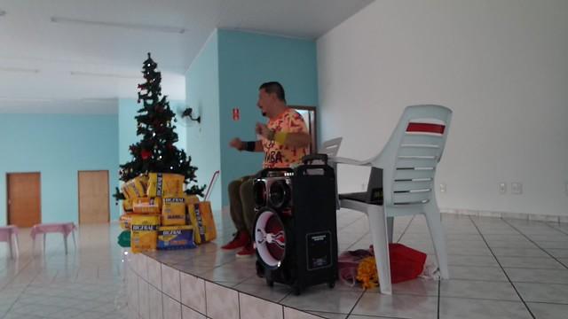 Uma tarde no Asilo São Vicente Paulo - Especial Natal