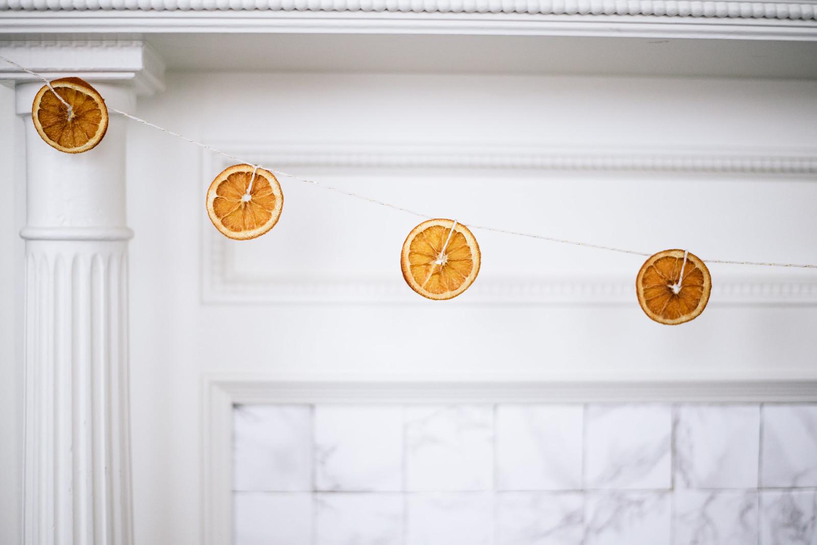Dried Orange Slices on juliettelaura.blogspot.com