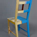 Homare Ikeda; Painted Chair; Item 118 - in SITu: Art Chair Auction
