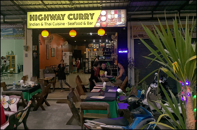 in addition to the curries were served inwards big portions in addition to non besides expensive BangkokMap: Highway Curry - Indian Restaurant