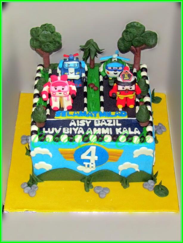 Cake Robocar Poli AISY BAZIL 15cm