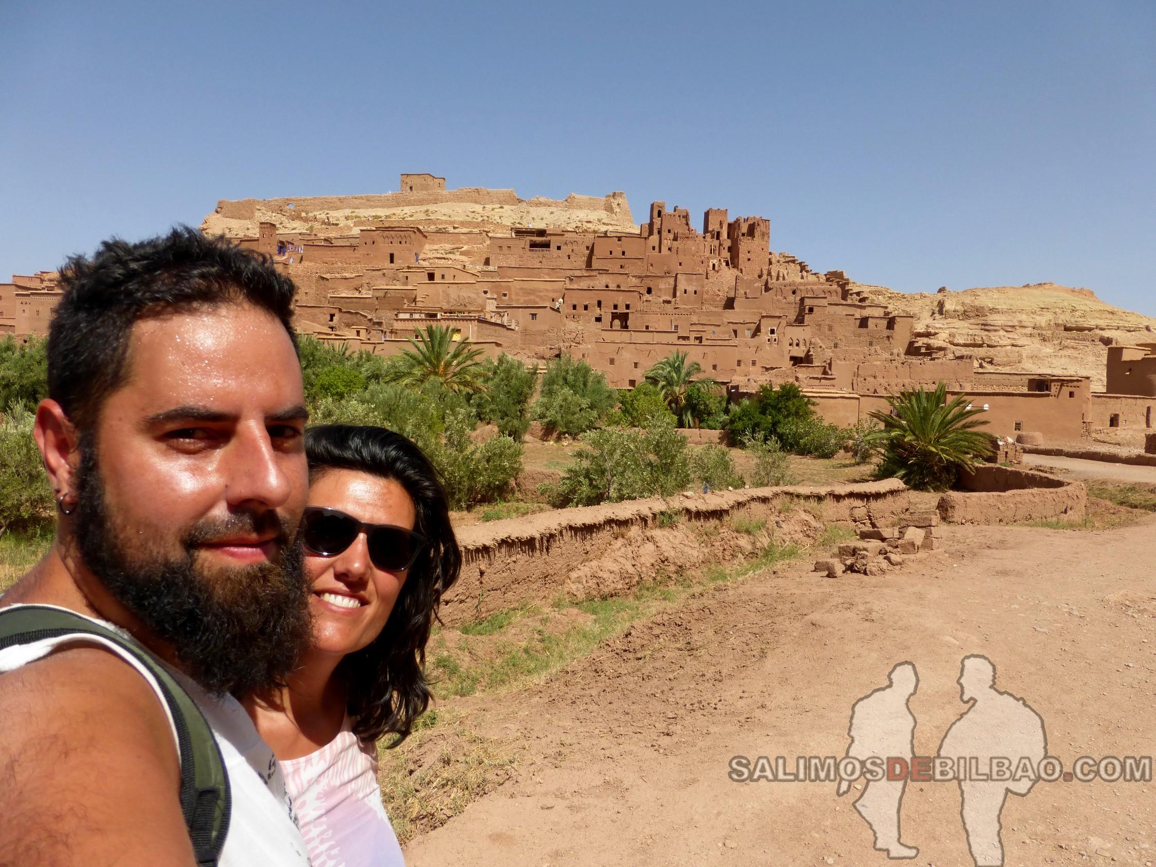 473. Katz y Saioa, Kasbah Ait Ben Haddou