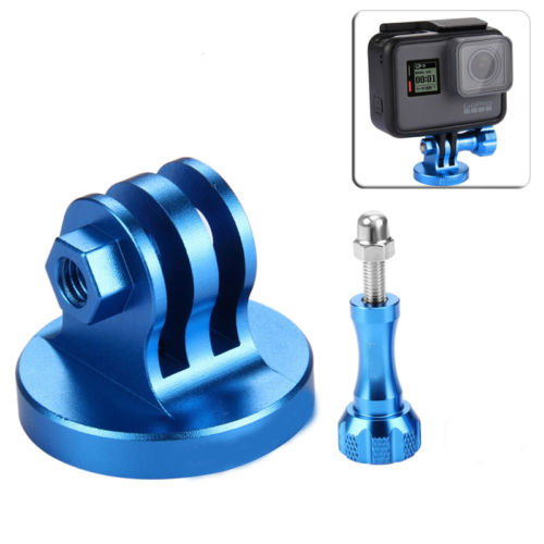Kit mount tripod 1/4 và vít vặn GoPro Hero_ nhôm CNC