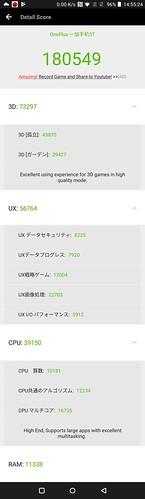 OnePlus 5T ベンチマークテスト (1)